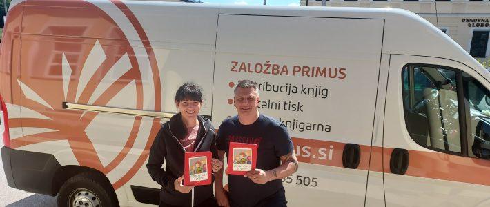Donacija knjig Založbe Primus